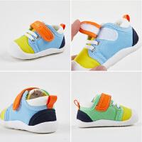 6-12个月宝宝鞋子婴儿学步鞋软底鞋春秋季1-3岁儿童透气布鞋