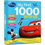 迪斯尼儿童英语图解词典 英文原版 Disney My First 1000 Words 精装大开本