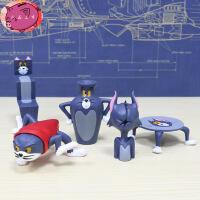 猫和老鼠手办 汤姆猫沙雕猫 tom猫二次元动漫公仔摆件 恶搞手办 猫和老鼠-款式一 盒装