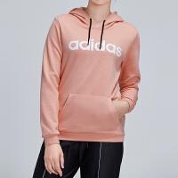 adidas阿迪达斯NEO女装2019春季新款套头衫连帽卫衣运动服DW7957