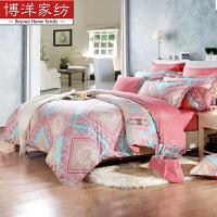 三四件套全棉纯棉欧式网红单人被套床单被罩1.8m床上用品定制 适用1.8m床 建议搭配220*240cm被芯