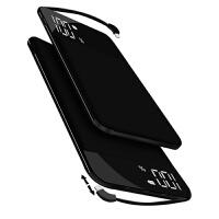 2018新款 8 0000大容量充电宝20000毫安苹果手机通用迷你移动电源vivo华为 升级版大容量 磨砂黑1000