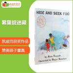 凯迪克图书 美国进口 凯迪克大奖 Hide and Seek Fog 雾里捉迷藏平装英文原版绘本5-10岁从一开始眼前