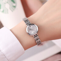 钢带手表女小表盘小巧手链表学生时尚简约潮流石英女表