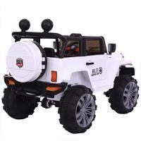婴儿童电动小孩宝宝可坐双人座超大号四轮四驱汽车遥控越野可坐人