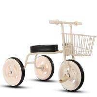 儿童车三轮脚踏车儿童脚蹬三轮车自行车日本简约款三轮宝宝童车1-5岁可座QL-59