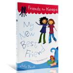 英文原版 My new best friend我的新朋友 Julie Bowe 平装课外小说阅读
