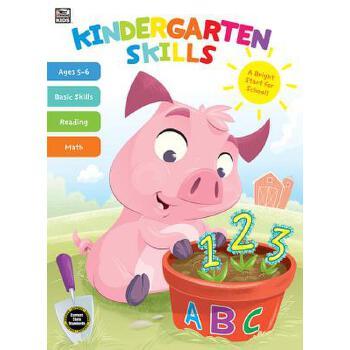【预订】Kindergarten Skills 预订商品,需要1-3个月发货,非质量问题不接受退换货。