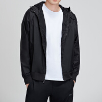 NIKE耐克男外套2019春季新款连帽套头机织风衣休闲运动服AR2192
