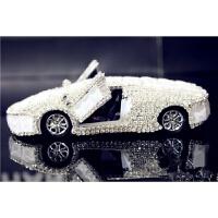 【品牌特惠】汽车摆件 车模香水座 车用挂件 镶钻石金属车载香水汽车用