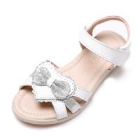 2019夏季新款时尚女童凉鞋小公主中大童软底鞋儿童宝宝凉鞋