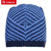 【一件4折,到手价:46】探路者滑雪帽 18秋冬户外男款舒适保暖滑雪帽ZELG91520