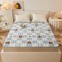 伊迪梦家纺 全棉床垫 榻榻米床褥垫被褥子0.9/1.2/1.5/1.8m米单双人床lc06