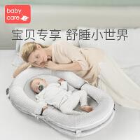 babycare便�y式��捍仓写残律��嚎烧郫B多功能bb床����移�哟卜��