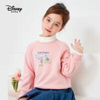 【今日4折�A估�r:57.4元】迪士尼女童加�q假�杉��l衣秋冬新款�r尚洋�饪ㄍㄆ唇�和�上衣
