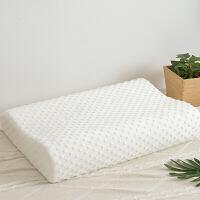 天然乳胶记忆枕颈椎修失眠枕头枕芯护颈枕记忆助睡眠枕L03定制 一只装