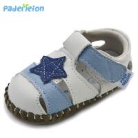 宝宝凉鞋女软底幼儿手工鞋子婴儿鞋子童鞋男夏季学步凉鞋