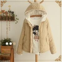 冬季新款宽松面包服女韩版学生短款加厚显瘦棉衣外套小棉袄潮