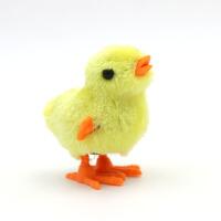 会跳的玩具 可爱仿真小鸡跳跳会跑的发条玩具儿童男女宝宝小孩上链玩具