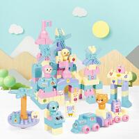 儿童超大颗粒积木拼装益智男孩女孩1-2-3-4-5-6周岁智力玩具