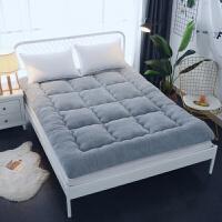 榻榻米床垫子1.8m床2米双人1.5m床褥子单人1.2米学生宿舍床褥垫被定制 灰色 羊羔绒加厚10cm