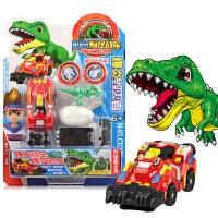 心奇暴龙战车王爆裂爆龙变形恐龙霸王龙飞车新奇战士儿童男孩玩具