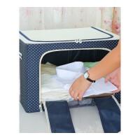 衣服收纳箱牛津纺布艺衣柜装棉被子的储物整理箱子大号特搬家袋