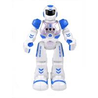 阿尔法遥控机器人玩具智能对话聊天跳舞机械战警儿童男孩礼物 智能机械战警 红色 送螺丝刀+电池+合金车