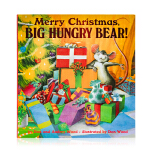 圣诞快乐饥饿的大熊Merry Christmas Big Hungry Bear英文原版绘本Child's Play出