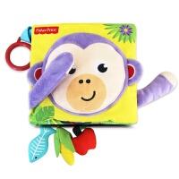 玩具开学季费雪撕不烂立体小布书0-1-3岁儿童宝宝婴儿早教玩具绘本