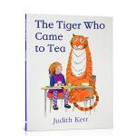 顺丰发货 Tiger Who Came to Tea来喝茶的老虎 不可思议的下午茶 平装大开本 苏菲和妈妈是喝下午茶时