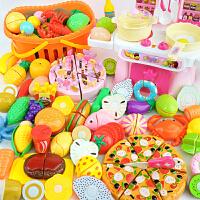 儿童切水果玩具 切切乐女孩蔬菜套装