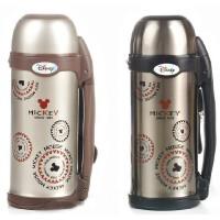 迪士尼3306保温壶800ML 不锈钢大容量运动瓶旅行水壶 防漏 保温长 金色