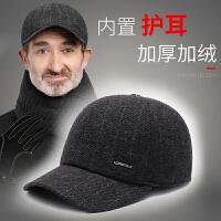 中老年人帽子男冬天加绒保暖棒球帽秋冬季老人男士爸爸爷爷鸭舌帽