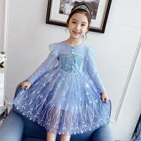 �凵�公主裙女秋冬�b女童洋�馀钆罴�小女孩冰雪奇��和��B衣裙