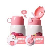 儿童保温水杯带吸管两用316不锈钢男女幼儿园宝宝防摔水壶