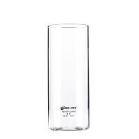 天喜(TIANXI)玻璃杯 家用透明直身 牛奶果汁饮料 耐热水杯啤酒杯