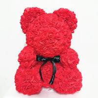 香皂小熊玫瑰熊生日情人节创意礼物香皂永生小熊送女友闺蜜