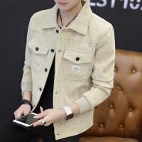 【加绒/不加绒】外套男牛仔夹克灯芯绒男士冬季韩版潮流外衣褂子
