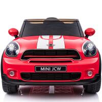 儿童电动车可坐双驱越野车带遥控婴儿四轮儿童电动汽车MINIzf01zf01 黑色【高配】2.4G双电双驱+全新中控+避