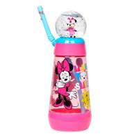 冰雪奇缘米妮小美人鱼公主闪电麦昆儿童吸管水杯 中
