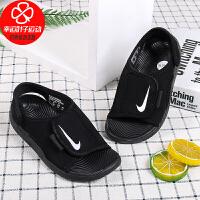 Nike/耐克童鞋新款低帮运动休闲沙滩鞋舒适轻便凉鞋DB9562-001
