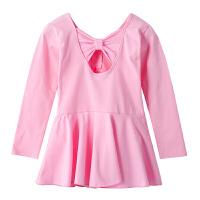 儿童舞蹈服女童拉丁舞练功夏季芭蕾裙幼儿女孩形体服