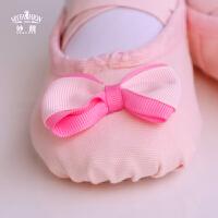 女童芭蕾舞鞋瑜伽练功鞋宝宝跳舞鞋猫爪鞋表演鞋软底儿童舞蹈鞋
