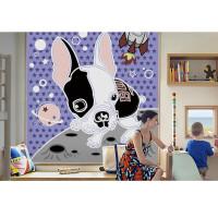 儿童印花卷帘窗帘婴儿房卧室遮光遮阳升降式卡通图案定制窗帘定制