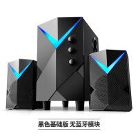 【好�】��X音��_式�C超重低音家用低音炮多媒�w音箱木�|有��P�本影�喇叭