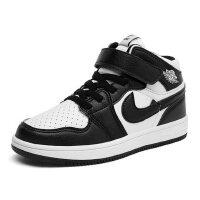 户外春夏单鞋男童女童运动空军一号小学生高帮 儿童童鞋篮球鞋