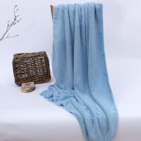 新款婴儿浴巾日本菠萝格大浴巾婴儿宝宝儿童男女吸水速干不掉毛 140x75cm