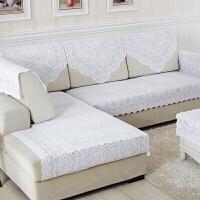 欧式蕾丝沙发巾靠背巾布艺防滑沙发垫套罩白色扶手巾四季定制