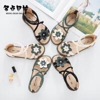 2019夏季新款女童凉鞋韩版中大童软底鞋儿童宝宝女孩小公主鞋